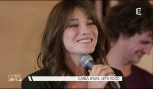 Carla Bruni, let's rock