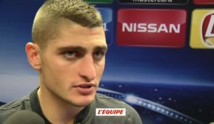 Foot - C1 - PSG : Verratti «On a été efficace»
