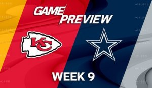 Chiefs vs. Cowboys Week 9 game preview
