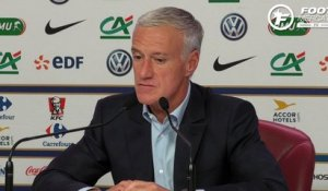 Equipe de France : Deschamps ravi et fier de sa prolongation