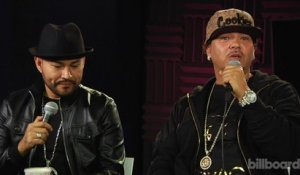 Frankie J and Baby Bash talk new music during Billboard In Studio