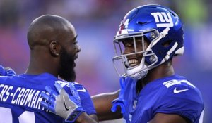 Dwayne Harris: Giants players hold each other accountable