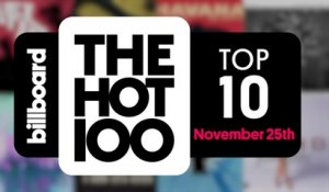 Early Release! Billboard Hot 100 Top 10 November 25th 2017 Countdown | Official