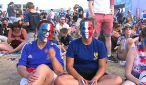 Euro2016. La France en finale, la Fan Zone de Marseille en folie !