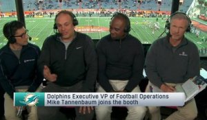 Dolphins exec Mike Tannenbaum discusses Dolphins future, Landry's upcoming free agency