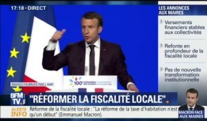 "Macron : ""Laissons les maires innover"""
