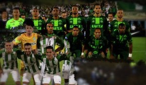 Le crash de l'avion des Chapecoense
