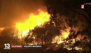 Californie : de violents incendies