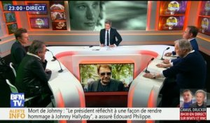 Johnny Hallyday: l'hommage (3/6)