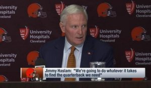 Browns owner Jimmy Haslam: Finding a QB is our top priority