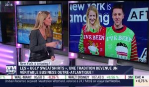 "New York is amazing: Les ""Ugly sweatshirts"", une tradition devenue un véritable business outre-Atlantique - 12/12"