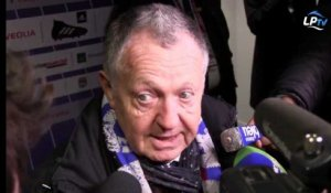 "Aulas : ""On n'a pas eu l'impression d'être en danger"""