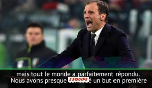 Foot - Coupe - Juventus : Allegri ravi de la qualification