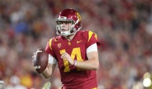 Rapaport: Browns, Giants could draft Sam Darnold, Josh Rosen