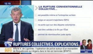 Quelques explications sur les ruptures collectives
