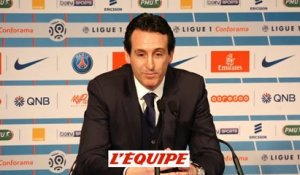 Foot - L1 - PSG : Emery «Cavani mérite son record»