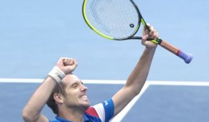 Coupe Davis #FRANED : le match Gasquet - Haase