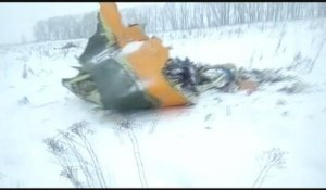 Crash d'un avion russe, pas de survivants - 11/02/2018