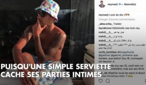 PHOTOS. Chaud devant ! Neymar pose nu sur Instagram