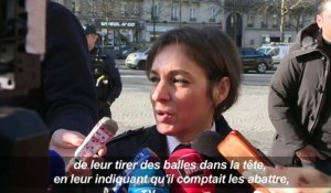Tentative de braquage à Paris: point presse de la police (2)