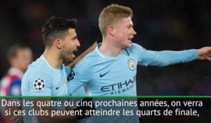 "Premier League - Guardiola : ""Les clubs anglais comptent vraiment en Ligue des champions"""
