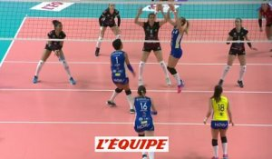 Cannes domine Mulhouse - Volley - Ligue A (F)