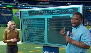 Maurice Jones-Drew's top 5 running back performances at the combine