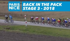 Back in the pack - Étape 3 / Stage 3 - Paris-Nice 2018