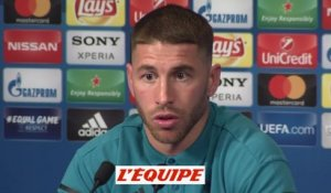 Ramos «PSG-Real, une finale avant l'heure» - Foot - C1 - Real