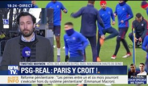 Ligue des Champions: Paris croit à l'exploit contre le Real