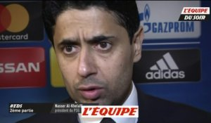 La réaction de Nasser Al-Khelaïfi - Foot - EDS