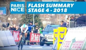 Flash Summary - Stage 4 - Paris-Nice 2018
