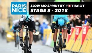 Slow Mo Sprint by Tissot - Étape 8 / Stage 8 - Paris-Nice 2018