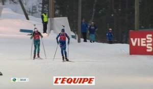 Chevalier 3e de la mass-start - Biathlon - CM (F)