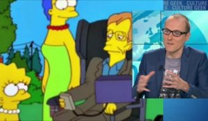 Simpson, The Big bang theory... Stephen Hawking était aussi une icone geek
