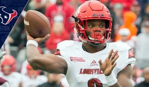 Why are the Texans working out Louisville QB Lamar Jackson?