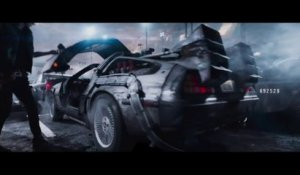 """Ready Player One"", le film de Spielberg qui embarque dans le futur en DeLorean"
