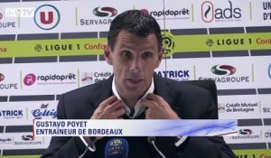 Ligue 1 :  Poyet n'a pas aimé la performance de Bordeaux