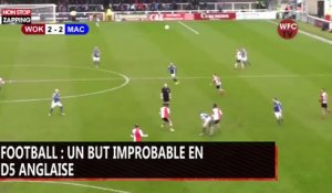 Football : un but improbable en D5 anglaise (vidéo)