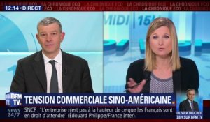 Tension commerciale sino-américaine