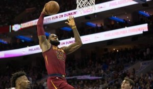 NBA : LeBron James boss du Top 10 de la nuit