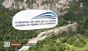 Transport : le statut des conducteurs de train en Corse