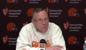 John Dorsey scoffs at reporter who talks about Josh Allen going No. 1 overall