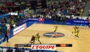 Vitoria obtient un match 4 en battant Fernerbahçe - Basket - Euroligue (H)