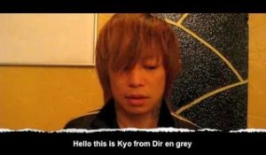 K! Tour 09: Dir en grey vocalist Kyo