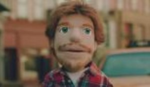 Ed Sheeran Stars as a Puppet in Video for 'Happier' | Billboard News