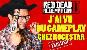 RED DEAD REDEMPTION 2 : j'ai vu du GAMEPLAY chez Rockstar [EXCLUSIF]