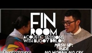 "Bugoy Drilon - Cover Mash-Up ""Rude, No Woman No Cry, One Day"" (Fin Room Acoustic Sessions)"