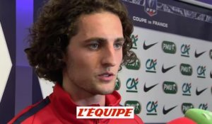 Rabiot «On a tout gagné» - Foot - CDF - PSG