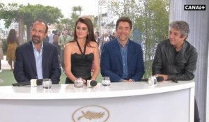Interview de Asghar Farhadi, Penelope Cruz, Javier Bardem et Ricardo Darín pour Everybody Knows - Cannes 2018
